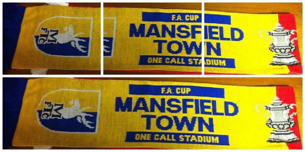mansfield town scarf How a Mansfield Town Scarf Caused a Stir in a Man United Home