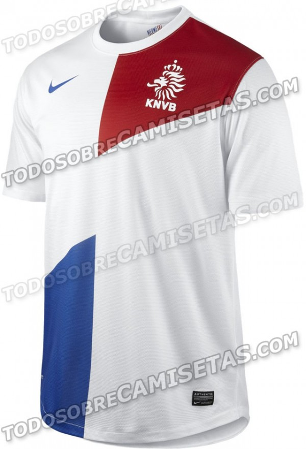 netherlands shirt 600x881 Brazil, Netherlands and Portugal Shirts Leaked [PHOTOS]