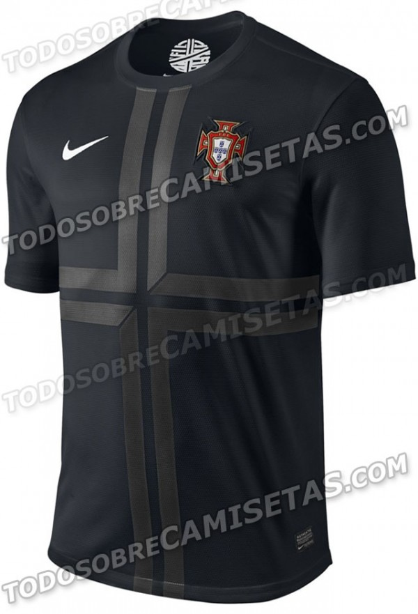 portugal shirt 600x881 Brazil, Netherlands and Portugal Shirts Leaked [PHOTOS]