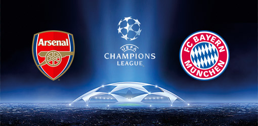 arsenal bayern munich Arsenal vs Bayern Munich, Champions League Round of 16 1st Leg: Open Thread