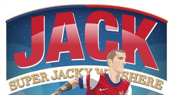jack wilshere arsenal illustration small Arsenals Jack Wilshere Out of Champions League Tie With Ankle Injury: The Nightly EPL