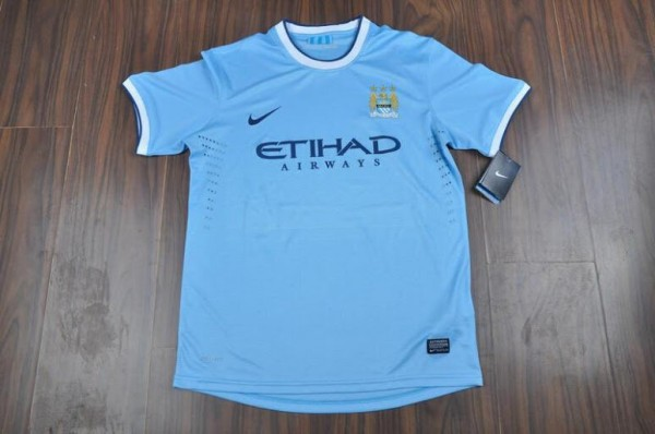 Nikes Manchester City Home Shirt for the 2013 14 Season: Newly Leaked [PHOTO]