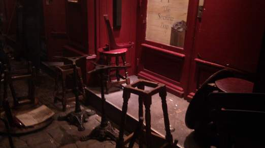 pub trashed Lyon Thugs Attack Spurs Fans in Pub; 3 Injured: The Daily EPL