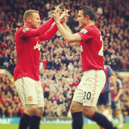 rooney van persie Wayne Rooney Hands Over Penalty Taking Duties to Robin van Persie: The Nightly EPL