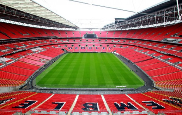 wembley stadium 600x380 FA Sets Up Neutral Zone At Wembley for FA Cup Semi Final After Wigan Fail to Sell Ticket Allocation