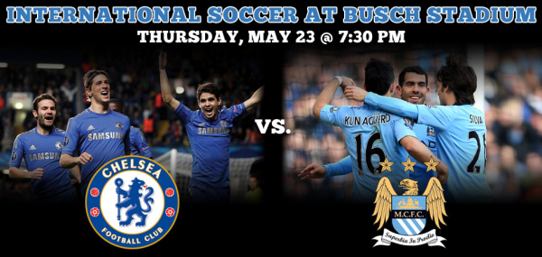 chelsea man city st louis 600x285 Chelsea vs Manchester City in St Louis: Roll Call For Tonights Match