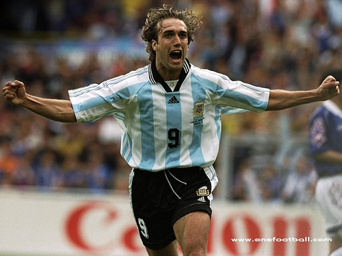 gabriel batistuta 5 Footballers I Would Have Loved Manchester United to Have Signed