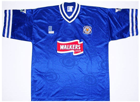leicester city 1996 97 home shirt Top 10 Favorite Soccer Shirts of the Premier League Era