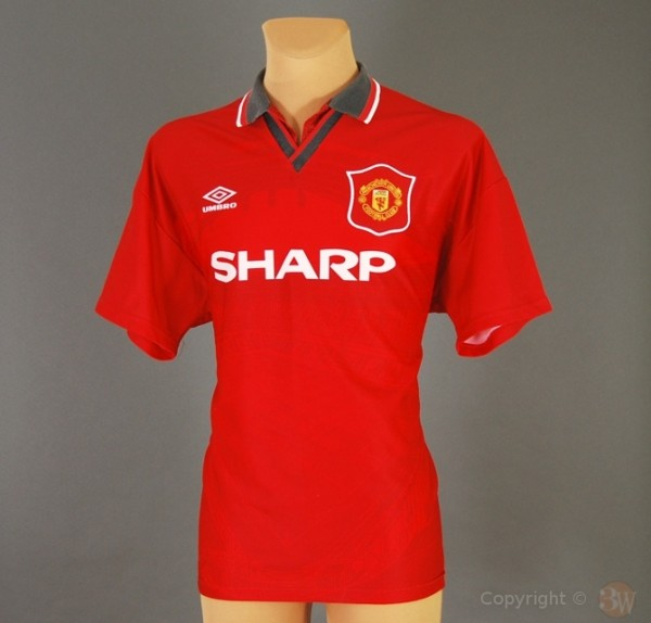 manchester united 95 96 600x574 Top 10 Favorite Soccer Shirts of the Premier League Era