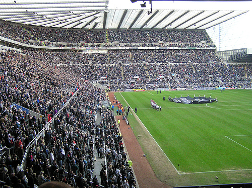 newcastle united Newcastle United Veto St James Park Fun Slide: Daily Soccer Report