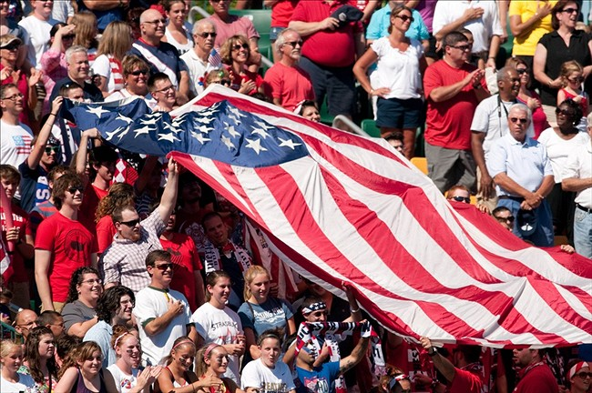 usa flag USA Climbs Six Spots to Number 13 in Latest FIFA Rankings