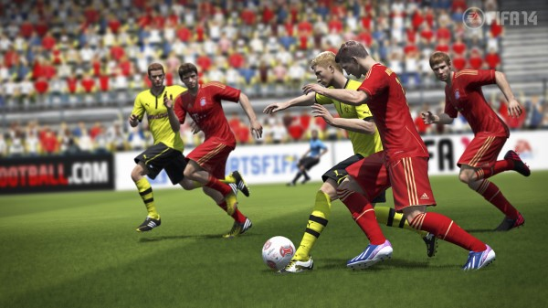 FIFA14 DE protect the ball WM 600x337 FIFA 14 New Features Revealed; More Of a Focus On The Midfield [PHOTOS & VIDEO]