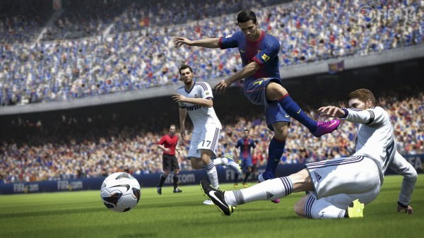 FIFA14 SP low shot WM UPDATE 600x337 FIFA 14 New Features Revealed; More Of a Focus On The Midfield [PHOTOS & VIDEO]