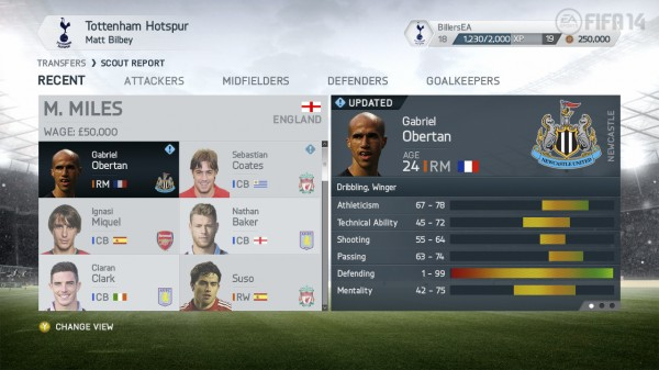 FIFA14 X360 CareerModeScoutReport Obertan 3rdUpdate View1 WM 600x337 FIFA 14 New Features Revealed; More Of a Focus On The Midfield [PHOTOS & VIDEO]