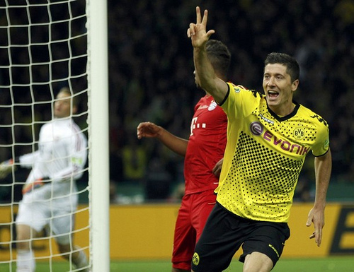 Robert Lewandowski1 Bayern Munich Sign Robert Lewandowski On 5 Year Deal, Confirms Bayern Munich