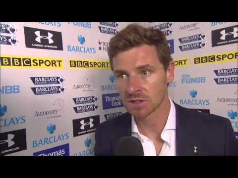 andre villas boas post match interview 5 Reasons Why Andre Villas Boas Has Succeeded at Tottenham Hotspur