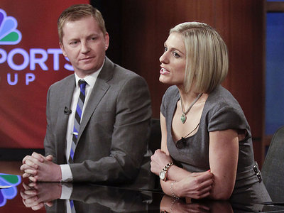 arlo white rebecca lowe Interview With Rebecca Lowe, the New Face of EPL Coverage on NBC Beginning August, 2013