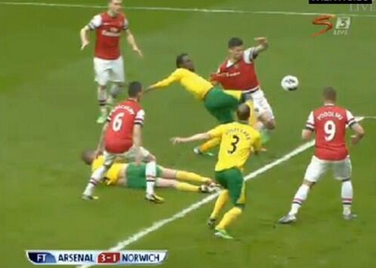 Norwich City vs Arsenal