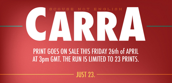 carra print Exclusive Prints of Jamie Carragher Illustration By Dan Leydon Go On Sale Tomorrow [VIDEO]