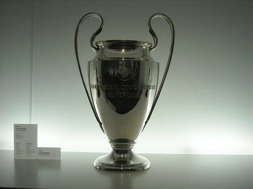 champions league trophy UEFA Champions League Wednesday, Matchday 5: Open Thread
