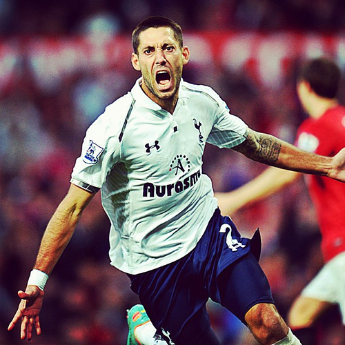 clint dempsey1 Clint Dempseys Tottenham Season Is Turning Around After Improved Performances