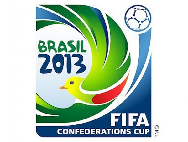 confederations cup logo 600x454 Only 3 of 6 Stadiums Ready for This Summers Confederations Cup in Brazil