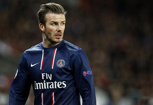 david beckham Tears for David Beckham In The Last Game Of His Career [VIDEO]