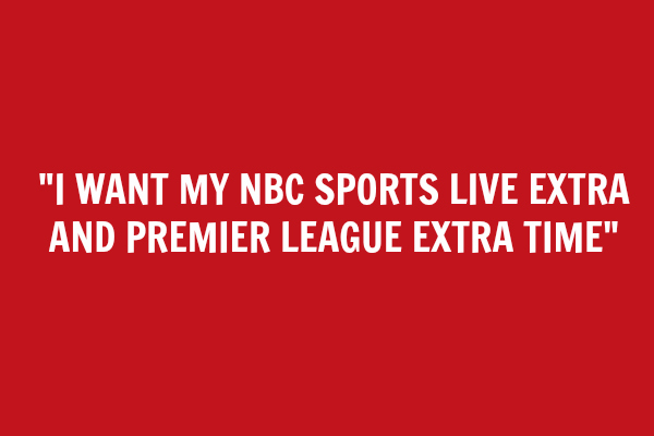 demand nbc epl coverage I Want My EPL: How to Make Sure You Dont Miss Any EPL Matches On NBC
