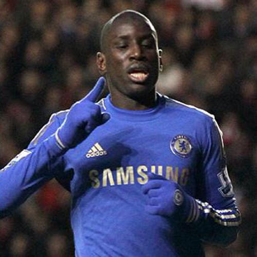demba ba Chelseas Demba Ba Scores to Knock Manchester United Out of the FA Cup [GIF]