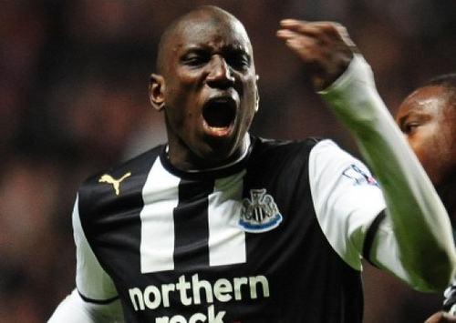 demba ba1 Watch Demba Bas Over The Shoulder Goal for Newcastle United vs Man United From 2012 [VIDEO]