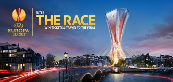europa league race contest 600x286 Win an All Expenses Paid Trip to Europa League Final in Amsterdam