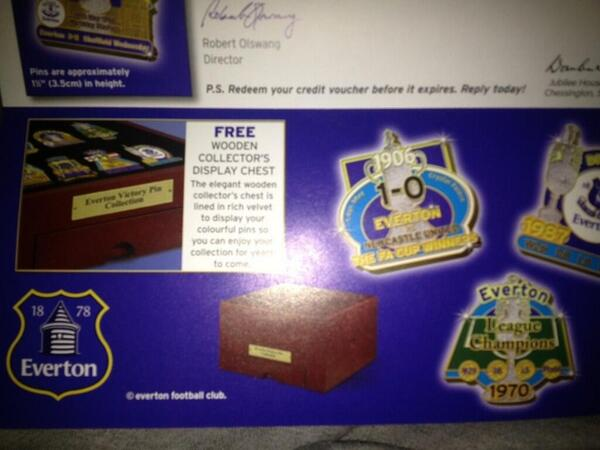 everton catalog Are Everton Planning On Unveiling A New Club Crest? [PHOTOS]