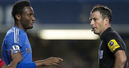 john obi mikel mark clattenburg Its Time to Give Racial Witch Hunts the Red Card in English Football