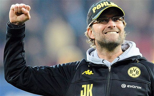 jurgen klopp 5 Leading Contenders to Replace David Moyes as Manager of Manchester United