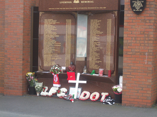liverpool memorial anfield Marking the 24th Year Anniversary Of The Hillsborough Disaster: Justice for the 96