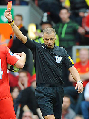 mark halsey Referee Mark Halsey Dropped From Premier League Matches For Second Week In A Row