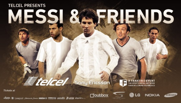 messi and friends 600x343 Lionel Messi, Fabregas, Henry, Song and 32 Other Stars of World Soccer to Play in Chicago This Summer