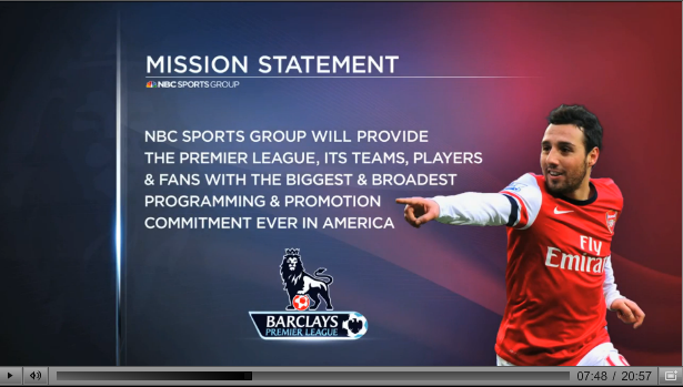 nbc epl commitment Rating NBC Sports Coverage of the Premier League On US TV and Internet