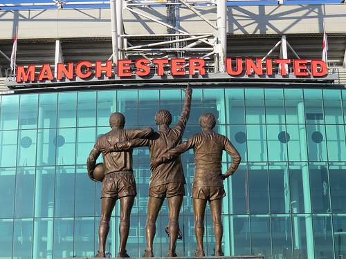 old trafford Manchester United Announce Record Annual Revenue of £363.2 Million