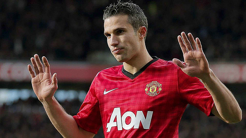 robin van persie1 Sir Alex Ferguson Hails Robin van Persies Goal of the Century: The Nightly EPL