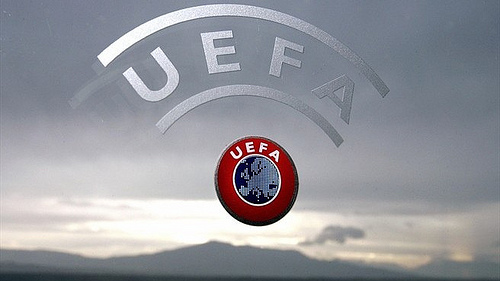 uefa logo UEFA Champions League and Europa League TV Schedule This Week For Soccer Fans In United States