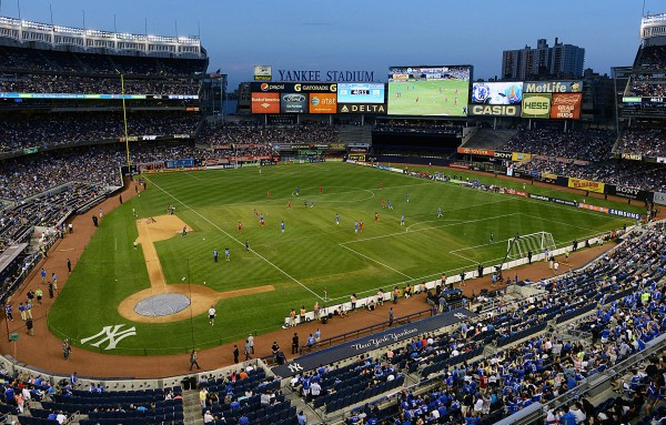 yankee stadium chelsea 600x383 Manchester City to Play Chelsea in Friendly at Yankee Stadium in New York City On May 25