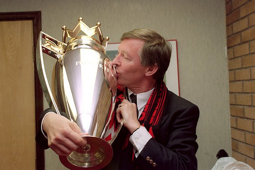 alex ferguson With David Moyes In Charge, Manchester United Are Carrying On In Sir Alex Ferguson's Image