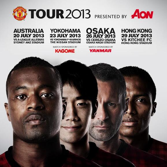 australia tour man united Man Utd & Liverpool Sell 82k and 93k Tickets Down Under In 18 & 26 Mins Respectively