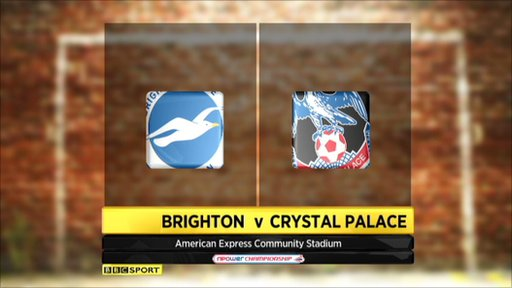 brighton crystal palace Brighton vs Crystal Palace, Championship Playoff Semi Final 2nd Leg: Open Thread