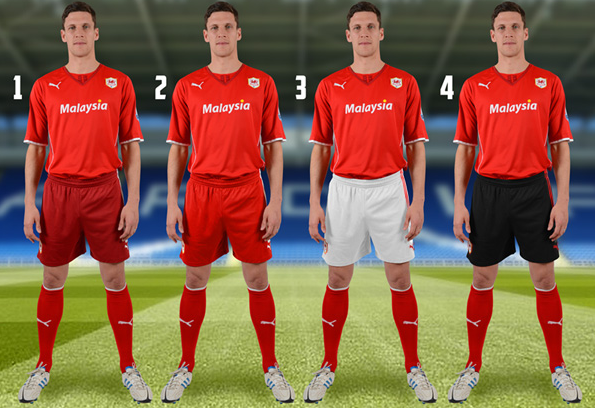 cardiff city home shorts Cardiff City Ask Season Ticket Holders to Pick Color of Shorts For Home Kit [PHOTO]