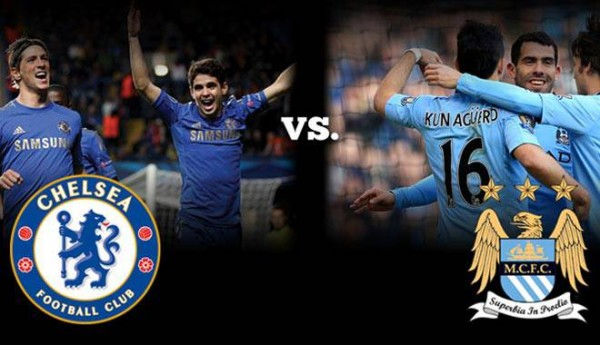 Manchester City vs Chelsea Exhibition Game in New York City: Open.