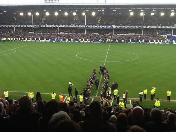 david moyes guard of honour Everton Have Much to Be Positive About Despite David Moyes Departure