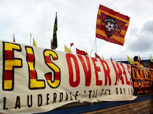 fort lauderdale strikers over mls banner 600x448 Safety Concerns Continue At Lower Division US Soccer Leagues