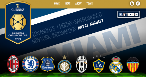 international champions cup 600x316 Everton and Chelsea Announce Plans to Head Back to US On Another Summer Tour: The Nightly EPL